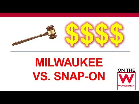 Milwaukee vs. Snap-On Lithium-Ion Battery Patent Lawsuit