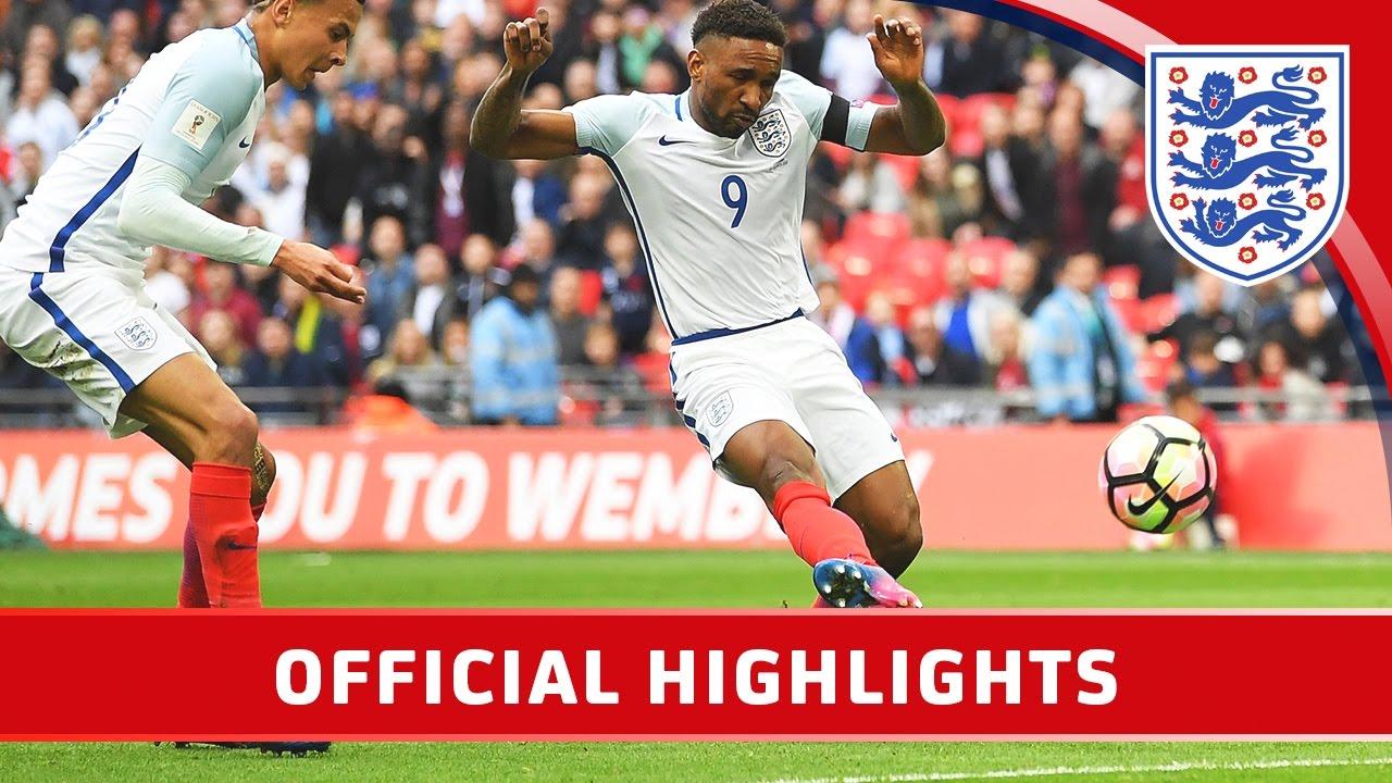 Англия - Литва 2:0 видео
