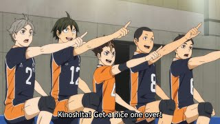 Karasuno Team Bonding BEST MOMENTS Season 4 - HAIKYUU!!