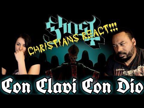 Christians React GHOST BC Con Clavi Con Dio!!!