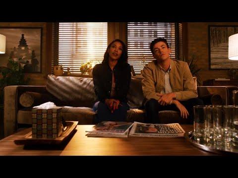 Барри Аллен и Айрис Уэст на приёме у психолога   Флэш (4 сезон 2 серия)