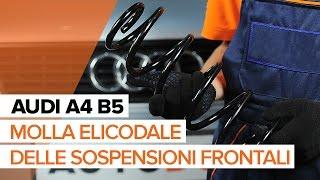 Come sostituire la molla elicodale delle sospensioni frontali AUDI A4 B5 [TUTORIAL]