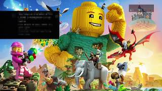 LEGO® Worlds PS4 - Exploring the World.  2-Player Fun!