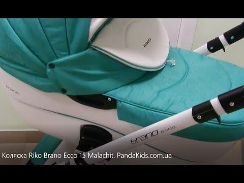 Видео обзор коляски RIKO BRANO Ecco. Новинка от RIKO на PANDAkids.COM.UA.