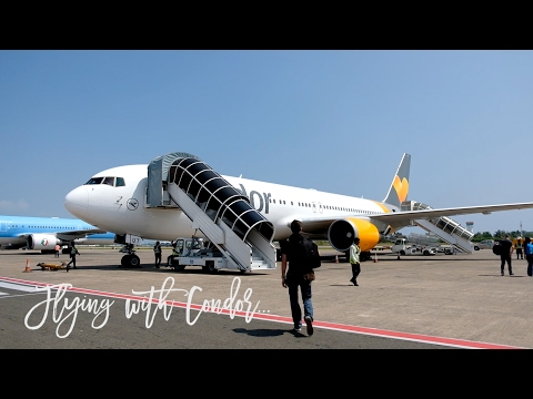 Condor Business Class Flight from Male to Frankfurt