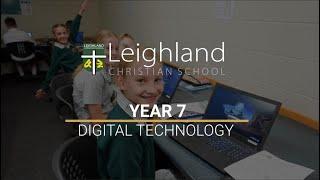 Year 7 - Digital Technology