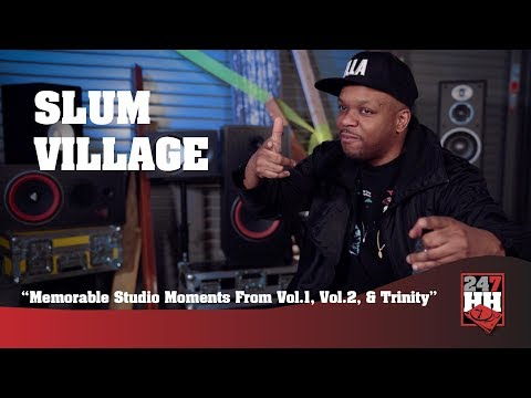 Slum Village - Memorable Slum Village Studio Moments (247HH Exclusive)