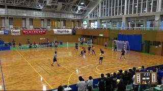 2018IH   女子ハンドボール 1回戦 夙川学院(兵庫県) 対 福井商(福井県)
