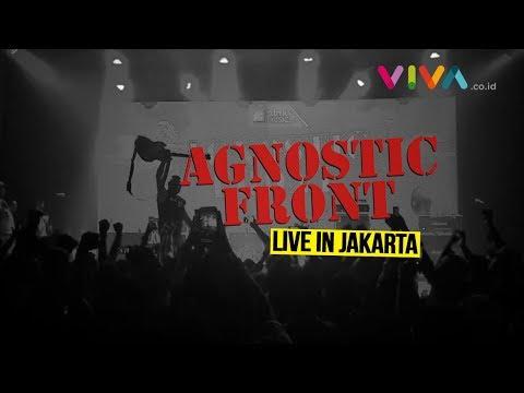 Agnostic Front Live in Jakarta!!