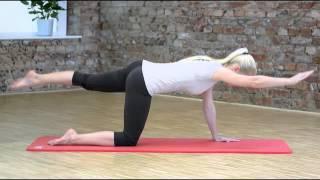 видео коврик для фитнеса