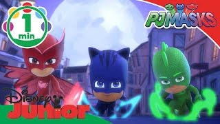 PJ Masks | Opening Titles! | Disney Junior UK
