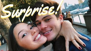 Surprising my boyfriend in London!
