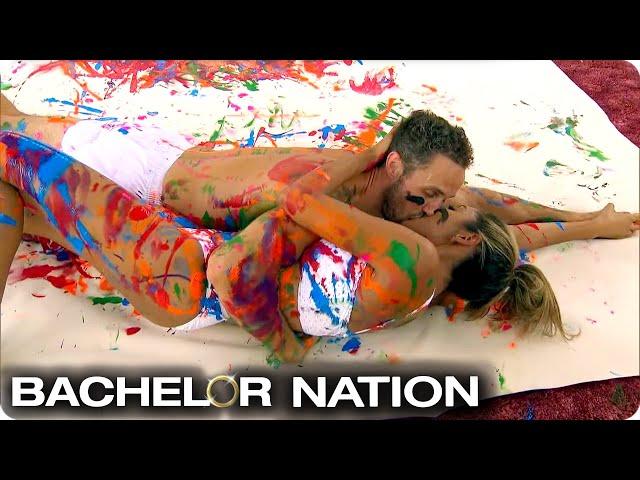 Zac & Tayshia Paint A Masterpiece | The Bachelorette