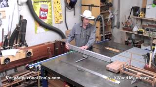 759. Machined Aluminum Extrusions For Table Saw Fence - Introduction
