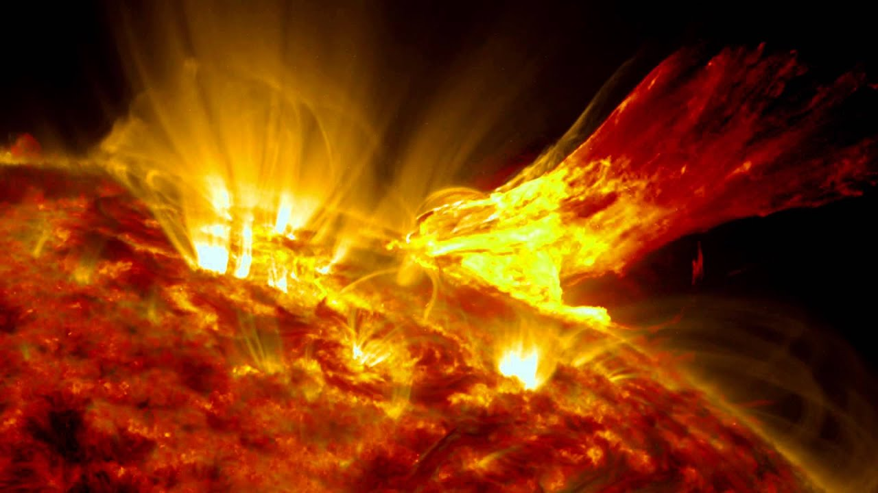 Sun's 'Wing-Like' Eruption Compared To Phoenix | Time ...