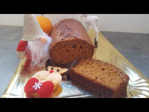 ☆☆-recette-de-noËl-☆☆-pain-d'Épices-maison-facile-et-rapide-!!-(-cuisine-erika)