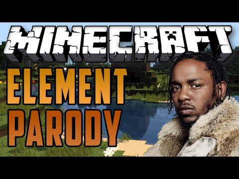 """Relevant"" - A Minecraft Parody Of Kendrick Lamar's ""Element"""
