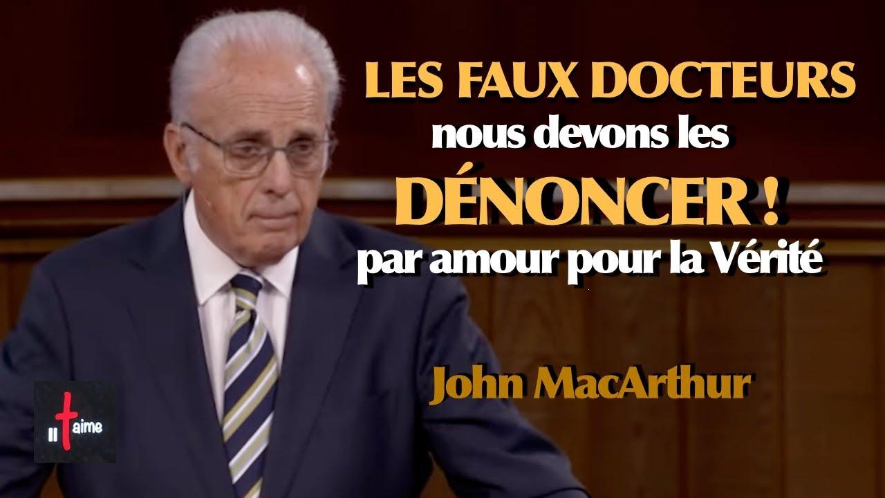 LES FAUX DOCTEURS, NOUS DEVONS LES DÉNONCER par amour pour la Vérité !