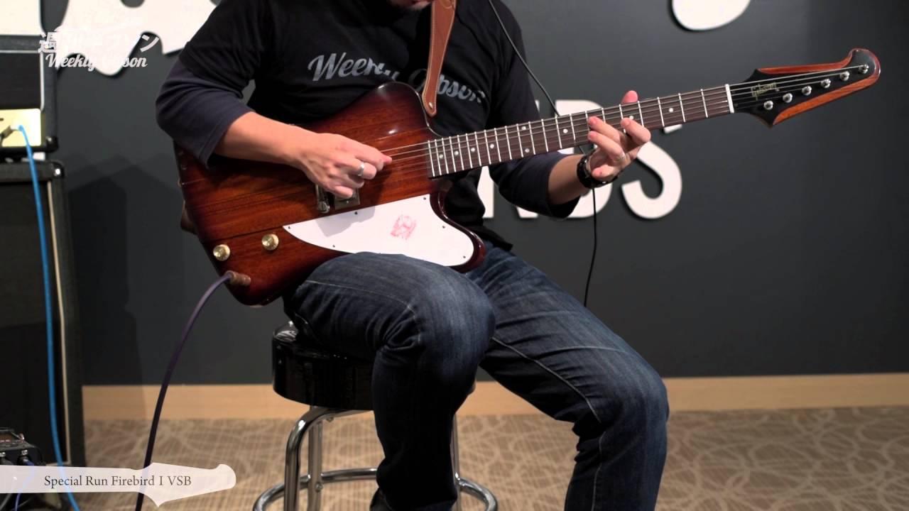 Gibson Custom Special Run Firebird Vsb Vol 97