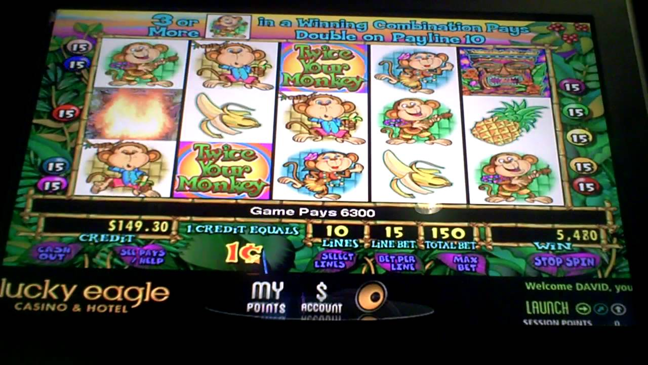 Twice Your Monkey Slot Machine