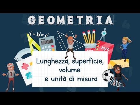 Lunghezza Superficie Volume E Unita Di Misura Schooltoon Youtube