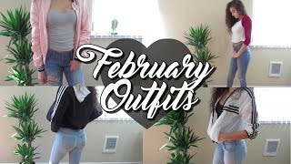 February OOTW // Outfit Ideas 2017 ♡