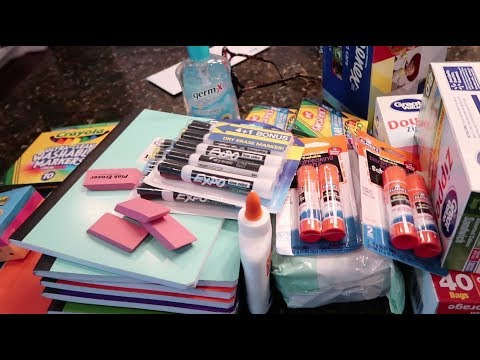 School Supply Haul! 1st and 2nd Grader Supplies