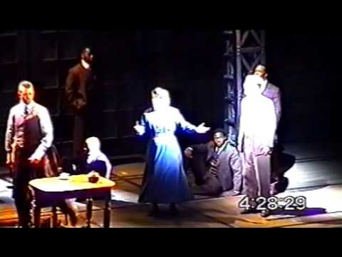 He Wanted To Say {Ragtime ~ Broadway, 1998}  Judy Kaye, Brian Stokes Mitchell, & Steven Sutcliffe
