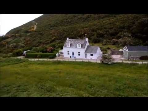 Sanderling Holiday Cottage, Portling, Dumfries and Galloway Aerial View