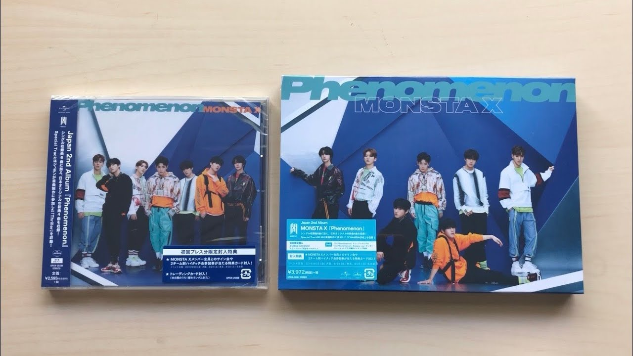 Monsta X Phenomenon Regular ver CD