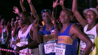 Comrades 2015: Scenes from the start, Durban City Hall