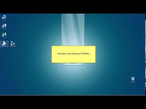 Utilisation des dossiers dans Magali 5.5