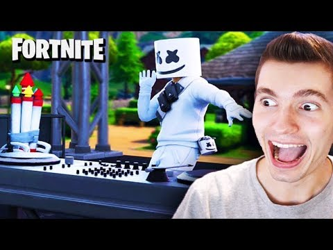 FORTNITE - SHOW COMPLETO do MARSHMELLO *novo evento*