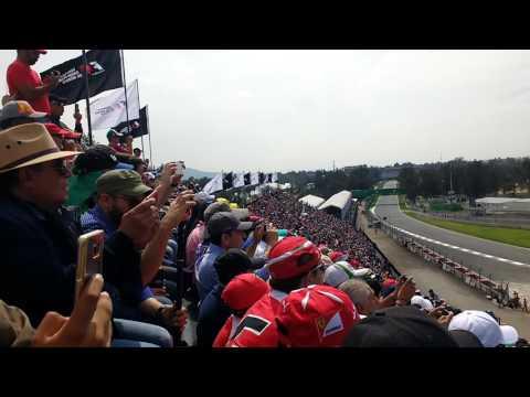 Gran Premio F1 México 2016 Arrancada