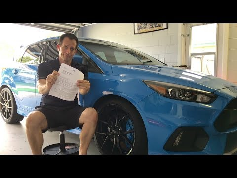 I got the BAD NEWS Letter from FORD!  month Focus RS Update - Raiti&#;s Rides