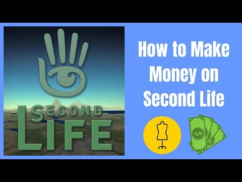 Making Money on Second Life - Make and Sell Stuff