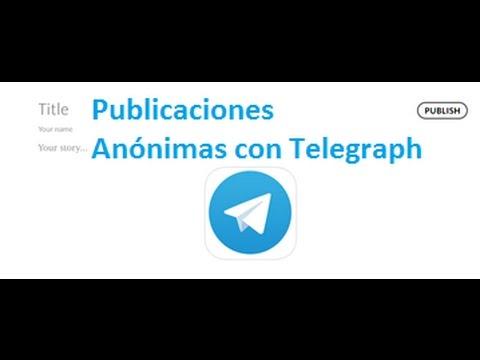Cómo utilizar Telegraph