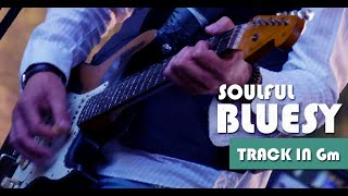 Sensitive Bluesy Soul Groove Guitar Backing Track Jam in Gm
