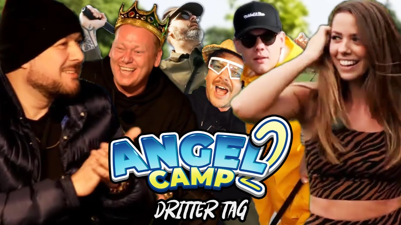 Angelcamp 2 mit Knossi & Sido - Tag 3   Highlights