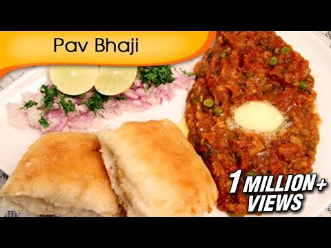 Pav Bhaji | Mumbai Street Food Recipe | Easy Vegetarian Fast Food Recipe By Ruchi Bharani