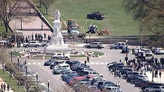 Raw: US Capitol on Lockdown After Shots Fired