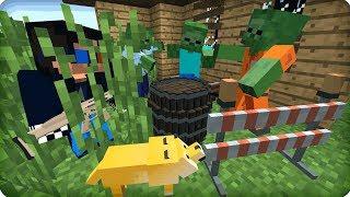 Обманул этих зомби! [ЧАСТЬ 22] Зомби апокалипсис в майнкрафт! - (Minecraft - Сериал)