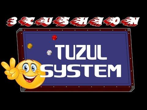 Anlatımlı Tüzül efekare sistem, tuzul double rail system, 3 bant bilardo teknikleri