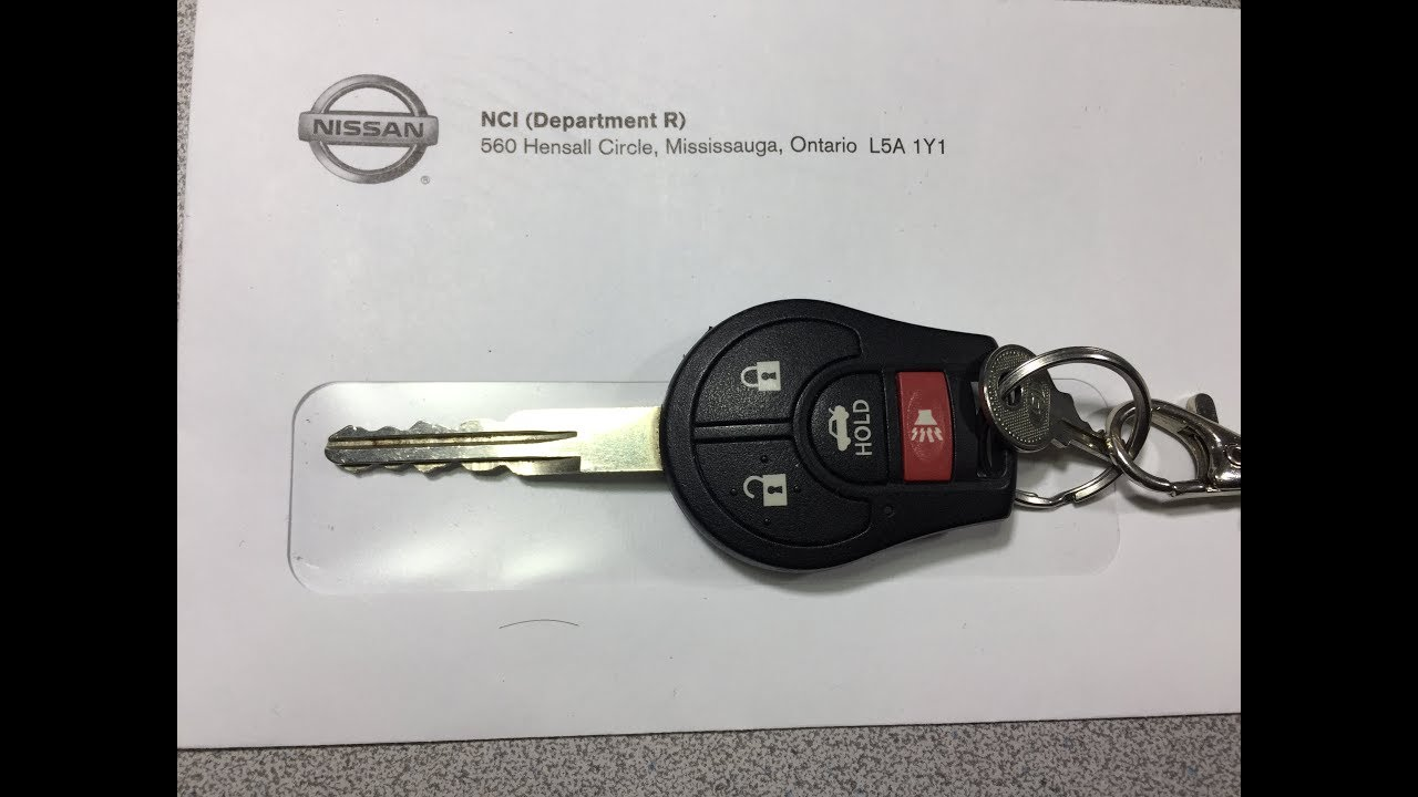 2015 nissan sentra fob battery replacement