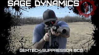 Gemtech Suppressor Bolt Carrier Group introduction