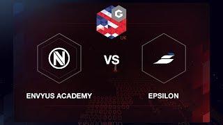 EnVyUs Academy vs Epsilon, map 2 mirage, Final, Gfinity Elite Series Season 2