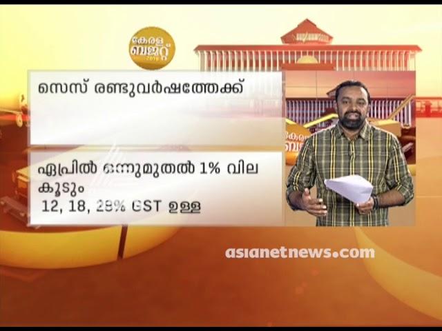 Kerala Budget 2019 Analysis