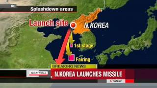 North Korea Launches Long-Range Rocket 12/12/2012