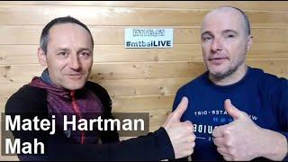 V živo z Matejem Hartmanom o pisanju, vodenju ...