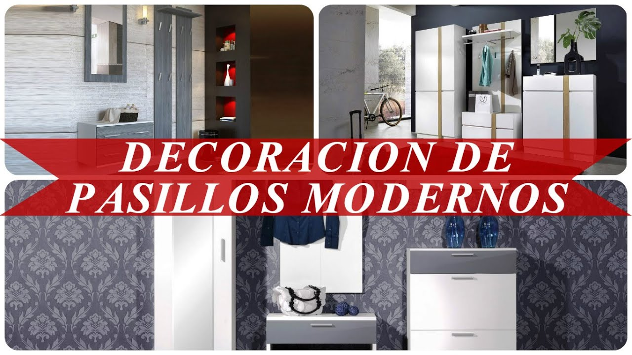 Decoracion de pasillos modernos youtube for Decoracion pasillos